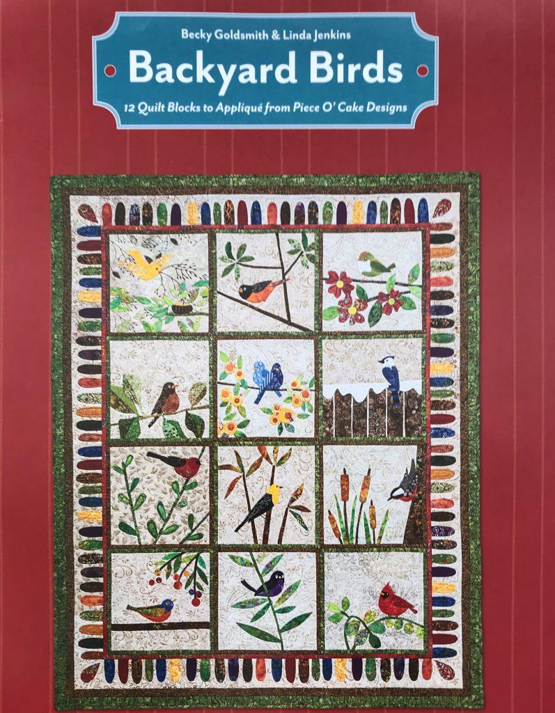 Backyard Birds Quilt Pattern Book
