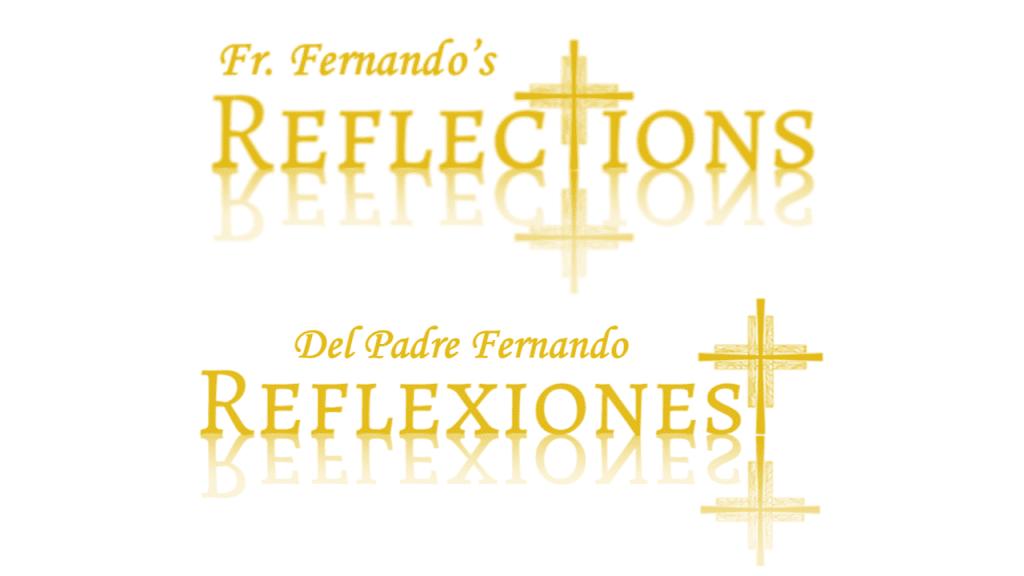 Fr. Fernado Reflections / Reflexiones