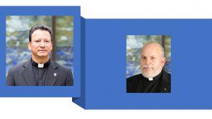 Fr. Fernando Monlina-Restrepo and Fr. Bill Williams together.