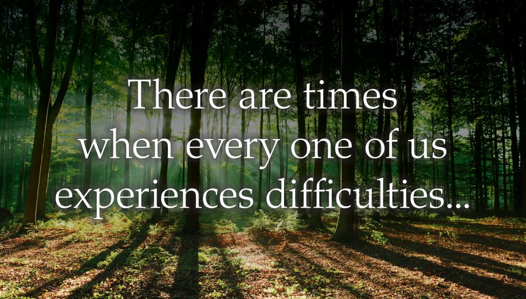 Stephen Ministry - There are times when every one of us experiences difficulties.