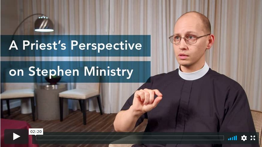 A Priest's Perspective on Stephen Ministry Image