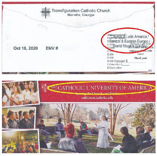 Envelope Misprint