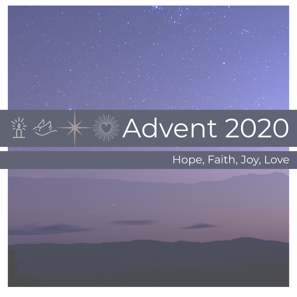 Advent at Transfiguration with Adult Faith Formation: Virtual Advent Reflections
