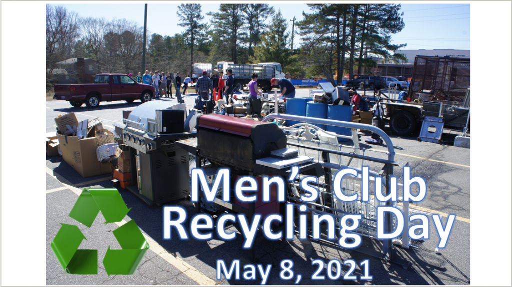 Men's Club Recycle Day