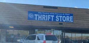 St Vincent de Paul Thrift Store Front