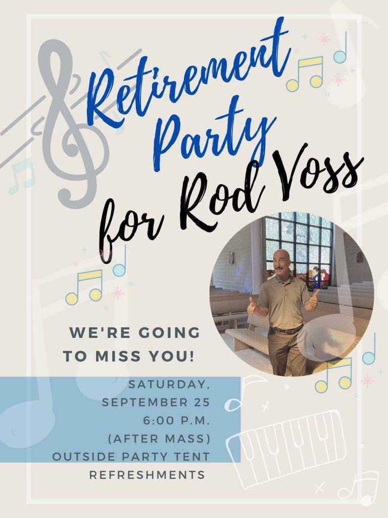 Farewell Rod!